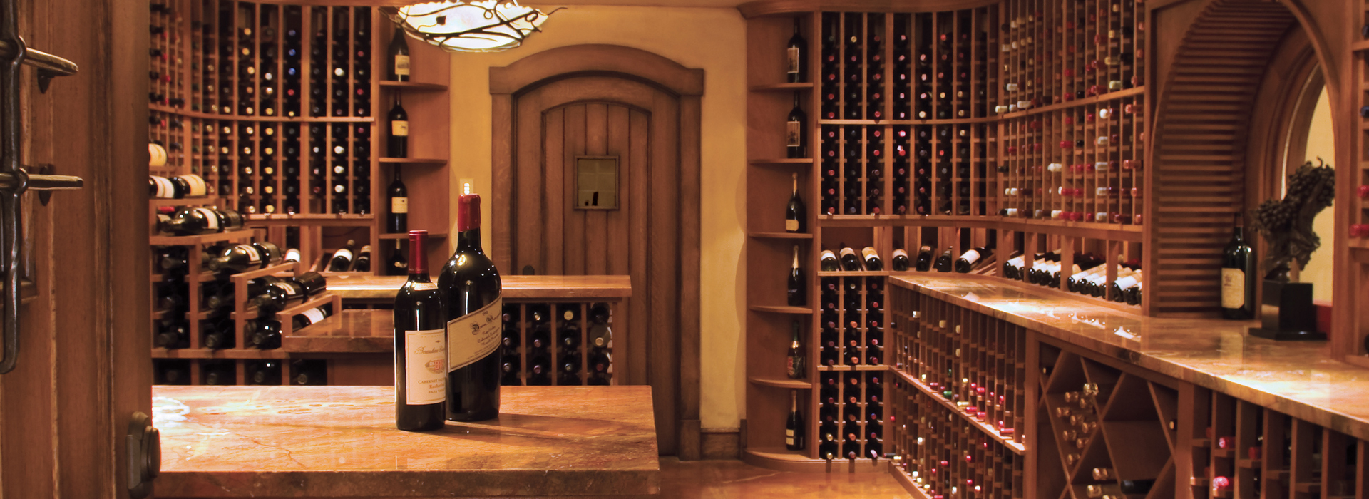 Wine Cellars, Wet Bars, Home Theaters and Fabulous Closets